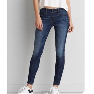 AEO Jegging Super Super Stretch Low Rise 4 Short